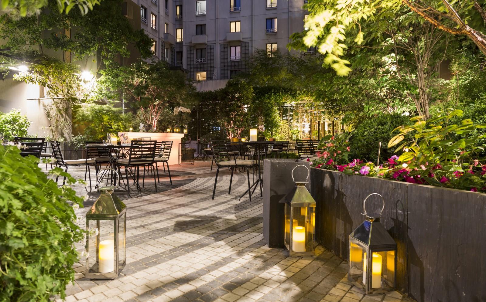 Skema alumni for Paris restaurant jardin
